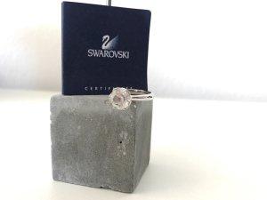 Swarovski Cocktailring Silber Größe 52