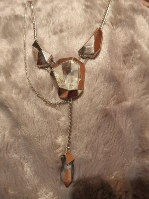 Swarovski Collar color plata