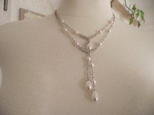 Swarovski Collier mit Perlen