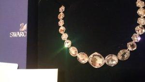 Swarovski Collier Silberfarben