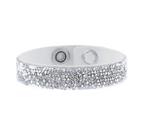 Swarovski Crystal Rocks Armband weiß & silber