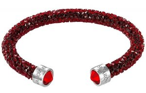 Swarovski - Crystaldust Armreif, Red