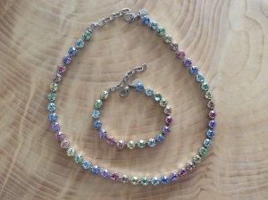 Swarovski Crystalp Schmuckset multicolor