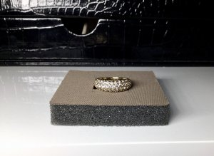 Swarovski Zilveren ring goud