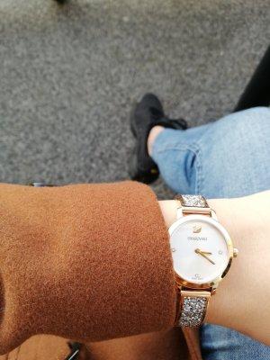 Swarovski Reloj con pulsera metálica color plata-color rosa dorado