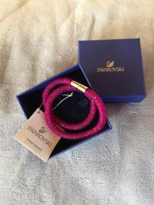 Swarovski Doppel Armband Neu Pink