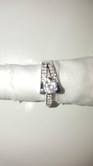 Swarovski-Elements 925 Silber Damen Ring