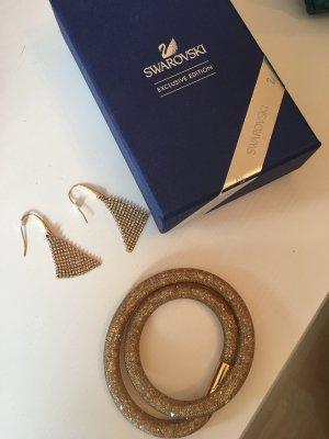 Swarovski Braccialetto sottile oro