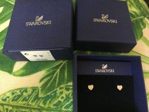 Swarovski Gold Herz mit Steinen Neu