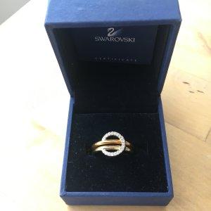 Swarovski Gold und Rosé Ring