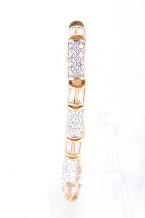 Swarovski Goldarmschmuck goldfarben Elegant