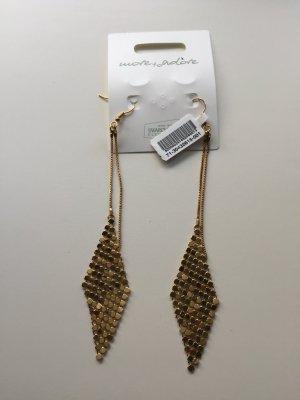 Swarovski goldfarbene Elemente Modeschmuck