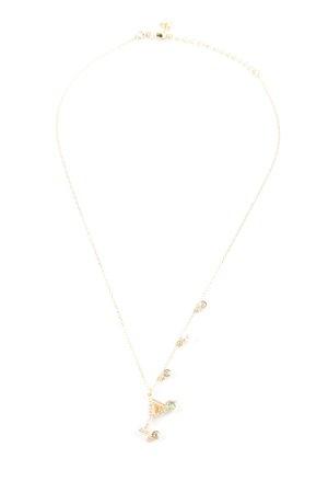 Swarovski Catena d'oro oro elegante