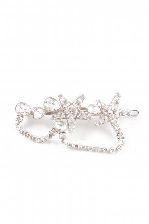 Swarovski Hair Clip silver-colored elegant