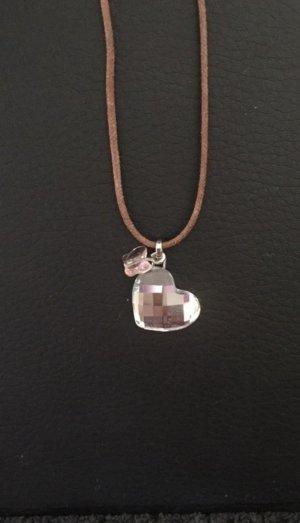 Swarovski Collana argento