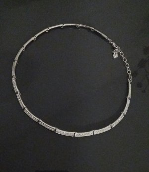 Swarovski Collar color plata