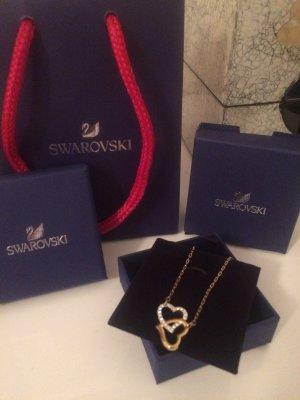 Swarovski Collier goud