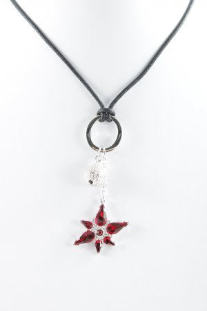 Swarovski Halskette florales Muster Casual-Look