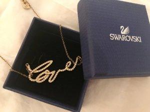 Swarovski Halskette Gold Love