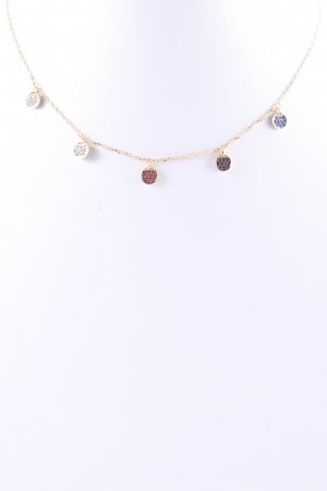 Swarovski Collar color oro elegante