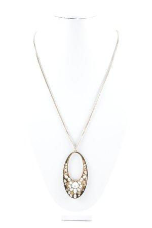 Swarovski Halskette goldfarben extravaganter Stil