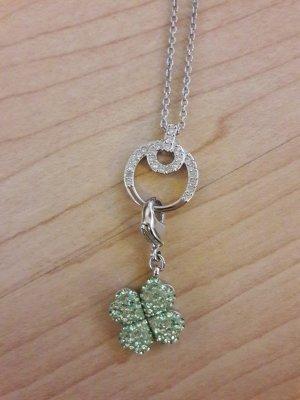 Swarovski Halskette Kette Lucky Charm Kleeblatt