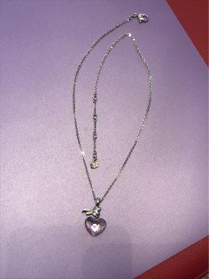 a4d43549283819 Swarovski Halskette mit Herzanhänger