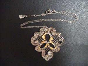 Swarovski Halskette mit Medaille