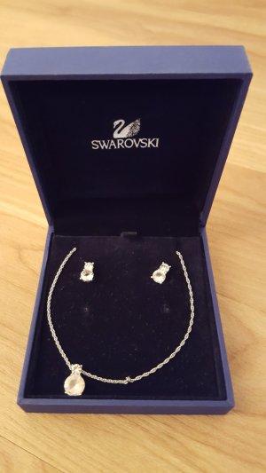 SWAROVSKI Halskette mit Ohrstecker