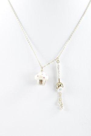Swarovski Halskette Punktemuster Casual-Look