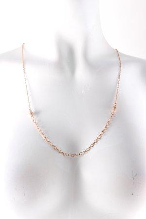 Swarovski Halskette roségoldfarben Glitzer-Optik