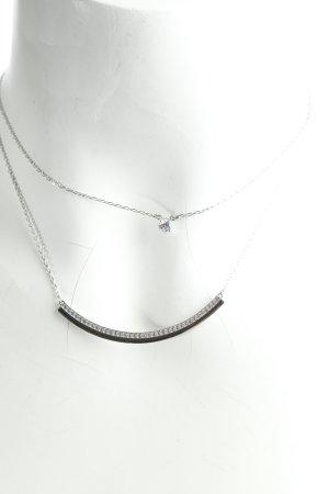 Swarovski Halskette silberfarben Eleganz-Look
