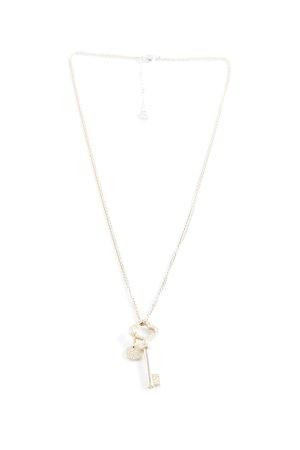 Swarovski Halskette silberfarben-goldfarben Casual-Look