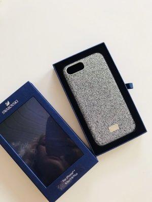 Swarovski Mobile Phone Case silver-colored-black
