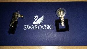 Swarovski Harpers Ohrringe gold GMUL/Gos neu mit Zertifikat #1023619