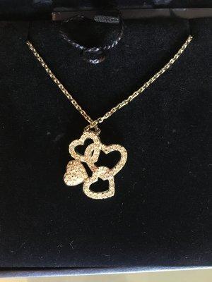 Swarovski Herz Anhänger Silber