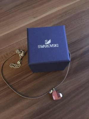 Swarovski Herz Kette pink rosa