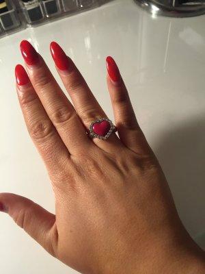 Swarovski Herz Ring ( Größe 58)