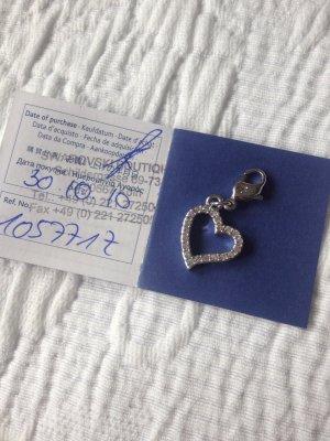 Swarovski Herzcharm mit Zertifikat
