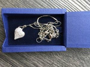 Swarovski Herzkette Silber original