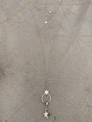 Swarovski Necklace silver-colored-white