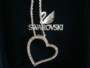 Swarovski Kette mit glänzendem Herzanhänger