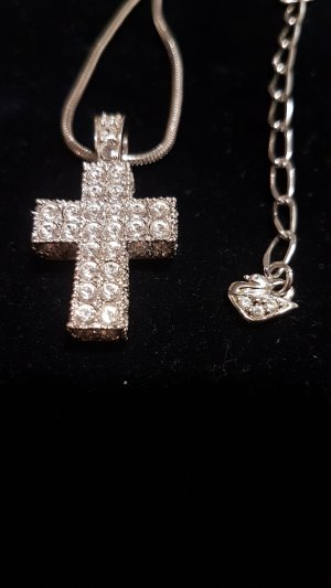 Swarovski Kette mit Kreuz