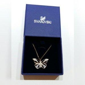 Swarovski Kette Schmetterling gold