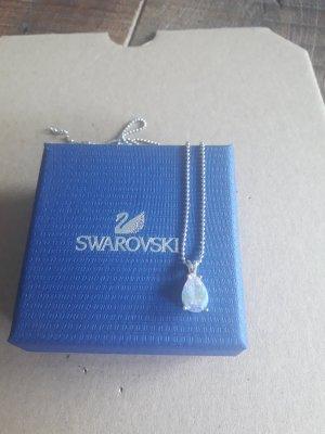 Swarovski Necklace white-silver-colored