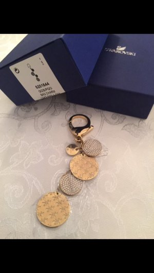 Swarovski Key / Bag.Gold