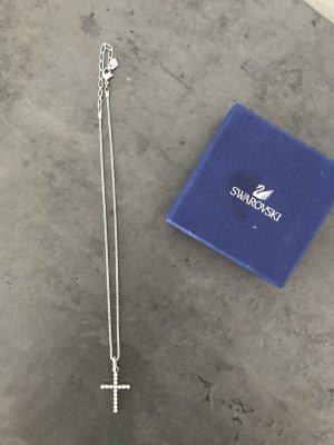 Swarovski Kreuz Anhänger mit Kette