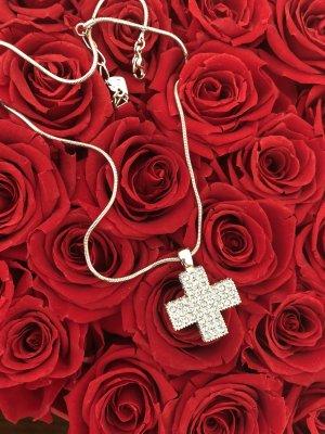 Swarovski Kreuz Halskette