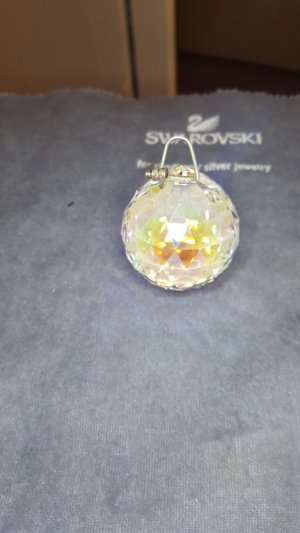 Swarovski Pendant natural white-cream