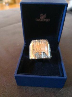 Swarovski Kristallring weiß Gr 58